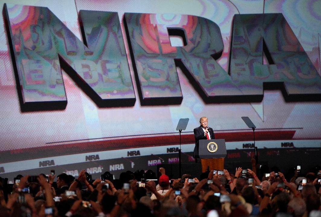 NRA Spokesperson Dana Loesch on President Trump's Address to the NRA.