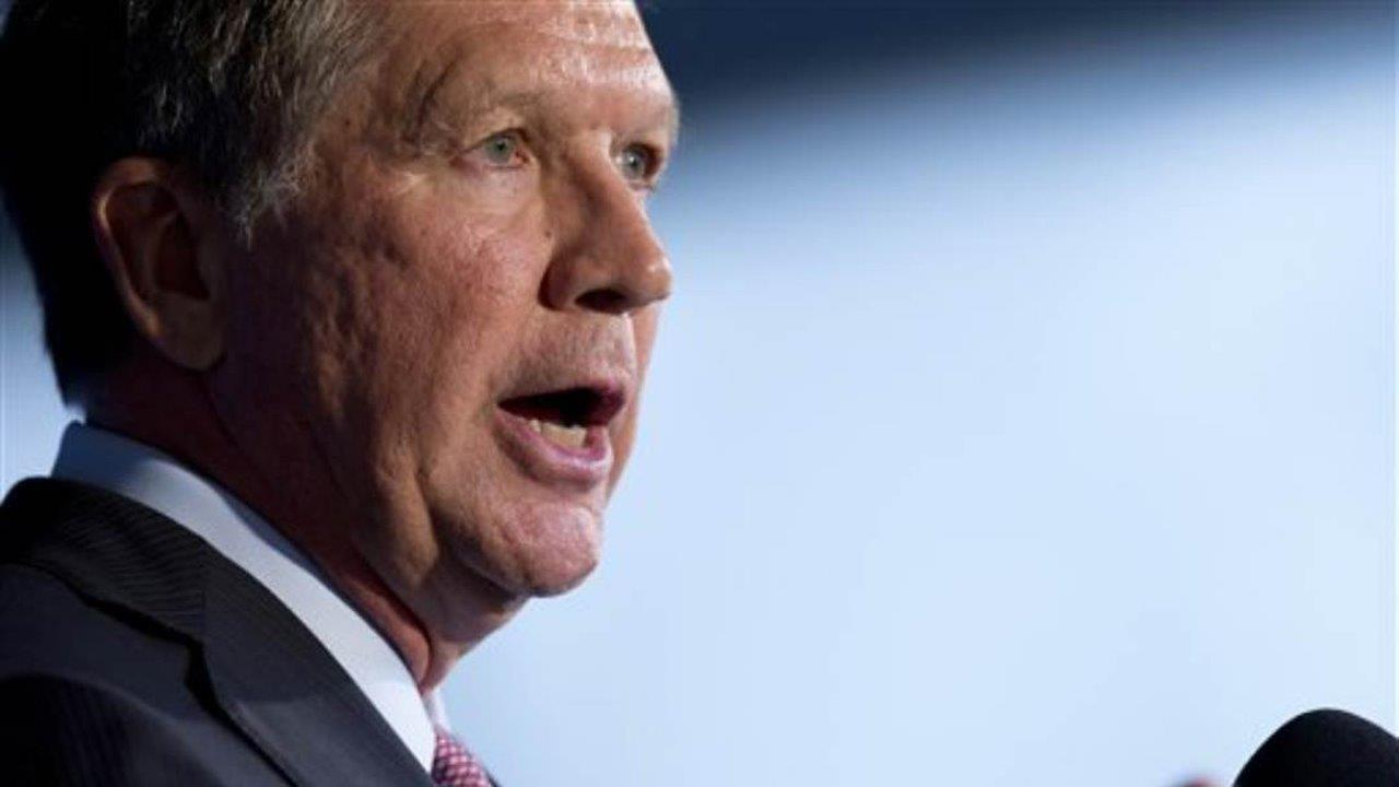 Gov. John Kasich (R-Ohio) on President Trump's first 100 days, health care reform and the need to end partisan politics in Washington, D.C., and his lessons from the 2016 presidential race.