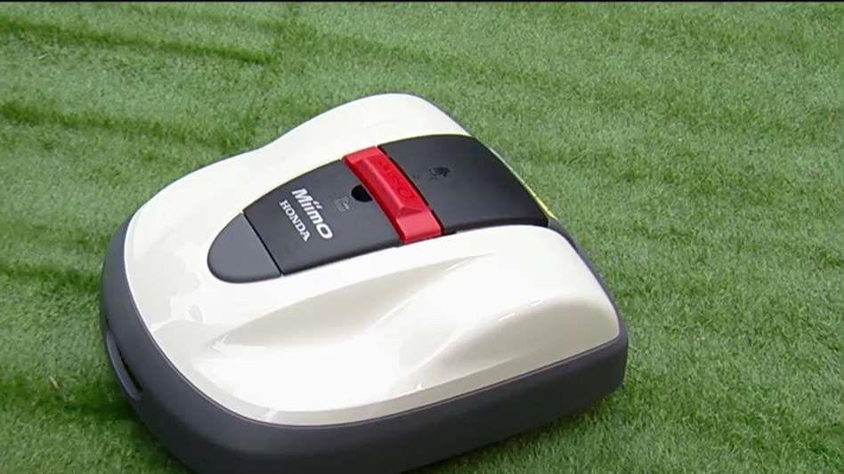 Nina Bryson, senior manager of marketing and market research at Honda Power Equipment, on the company's robotic lawn mower 'Miimo.'