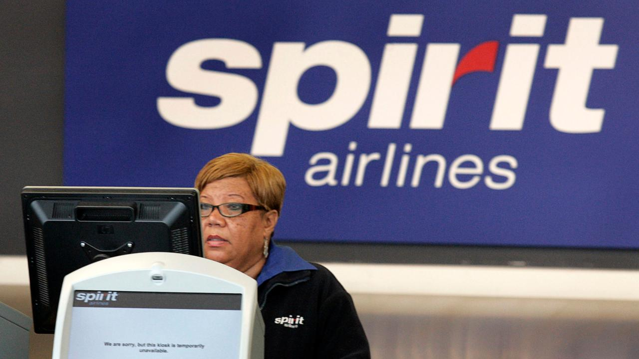 FBN's Cheryl Casone on fights breaking out at Lauderdale-Hollywood International Airport after nine Spirit Airlines flights were cancelled.