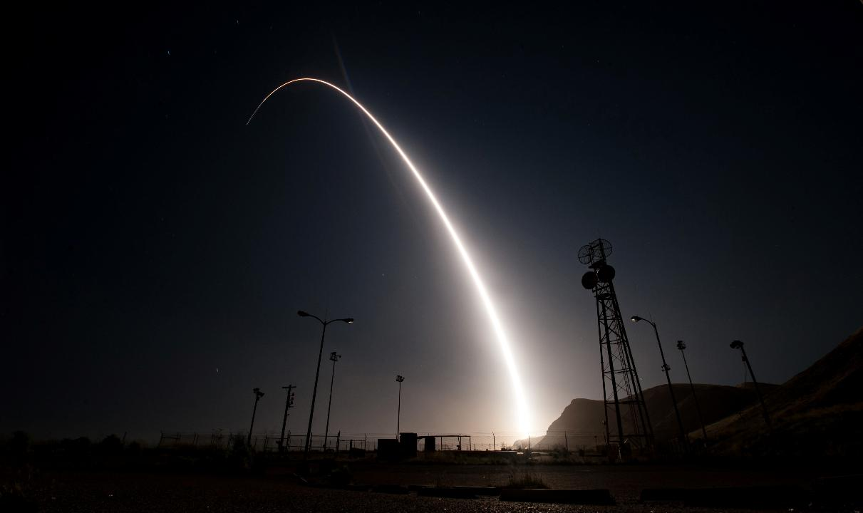Inside the U.S. Air Force's Minuteman III ballistic missile launch