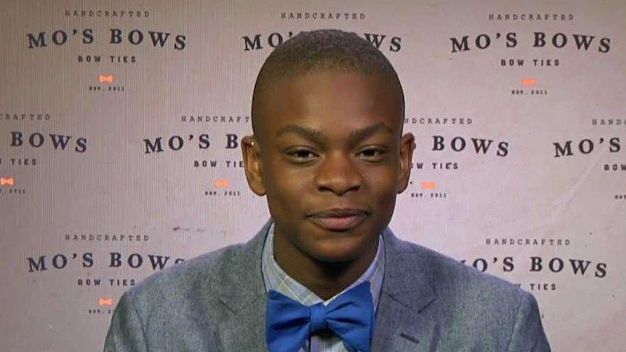 Mo's Bows founder and CEO Mo Bridges discusses how his business caught the eye of the NBA.