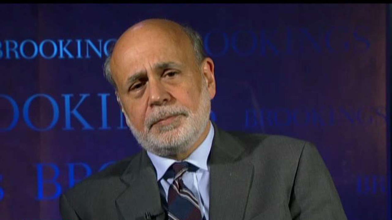 Former Federal Reserve Chairman Ben Bernanke on infrastructure, tax reform and the U.S. debt.