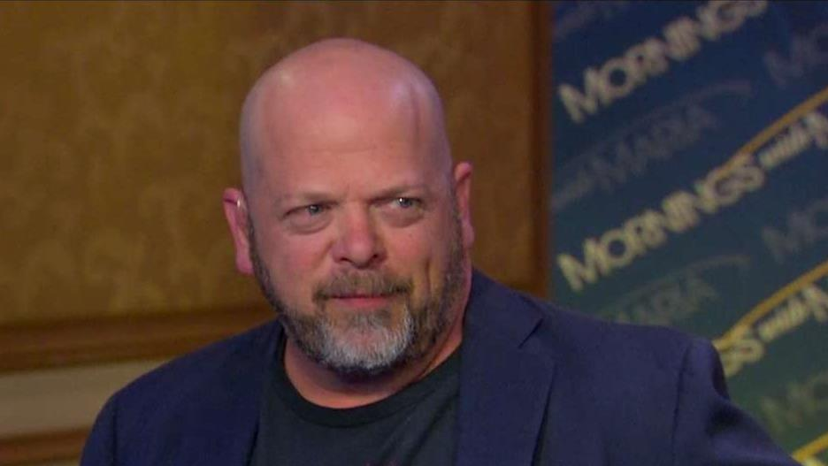 Gold and Silver Pawn Shop owner Rick Harrison on the potential impact of President Trump's policies on small business owners and consumers.