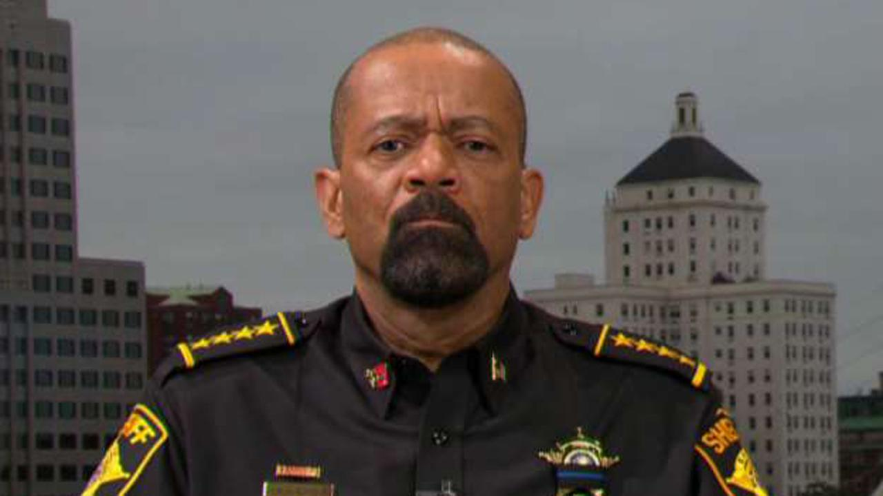 Milwaukee County Sheriff David Clarke on President Trump firing James Comey.