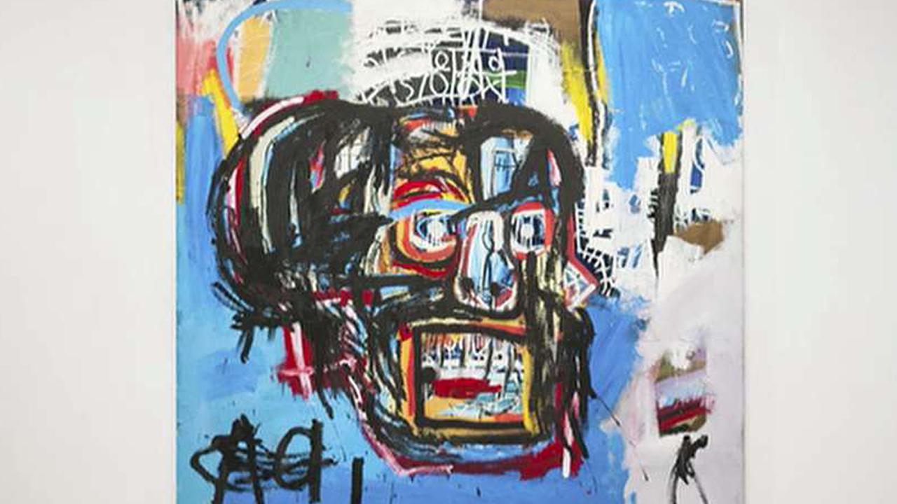 Sotheby's Tad Smith on the record-breaking $110.5 million sale of a Basquiat painting at the company's recent auction.