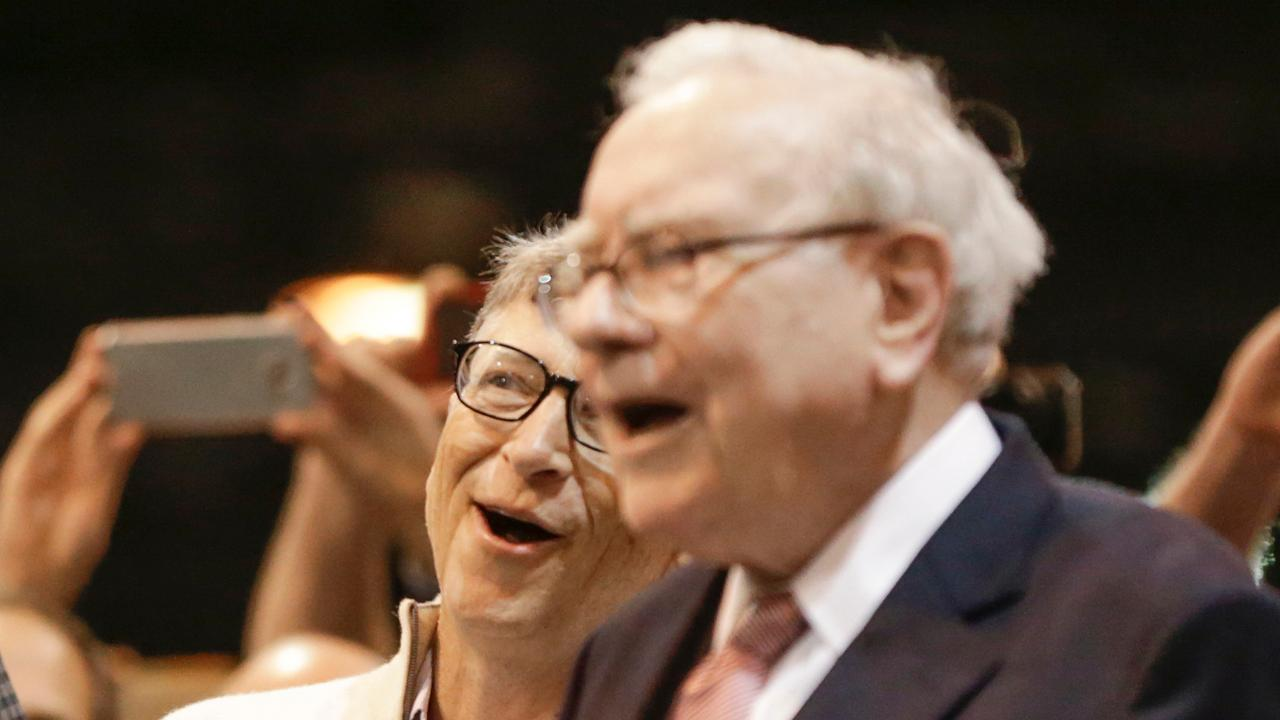 Microsoft co-founder Bill Gates and Berkshire Hathaway Chairman and CEO Warren Buffett discuss cybersecurity, the U.S. economy and risks to the stock market.