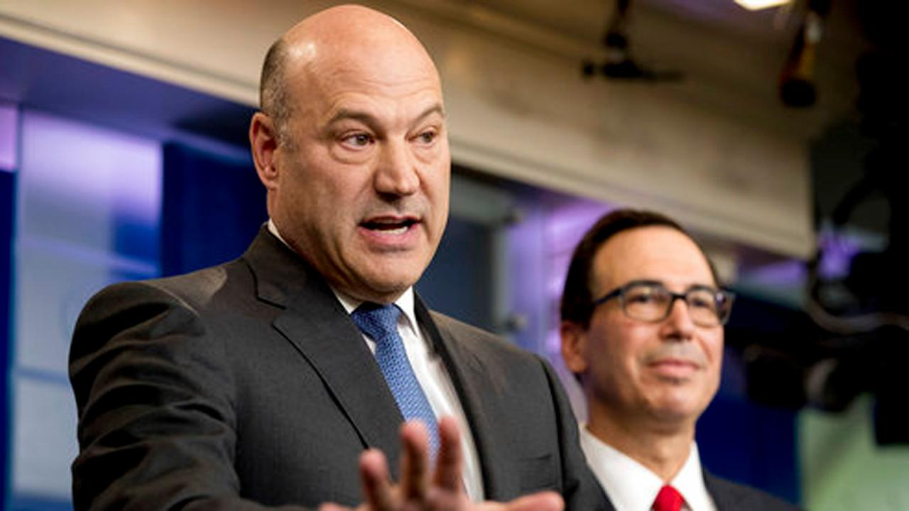 Director of the National Economic Council Gary Cohn on plans to bring business back into the U.S. through repatriation.