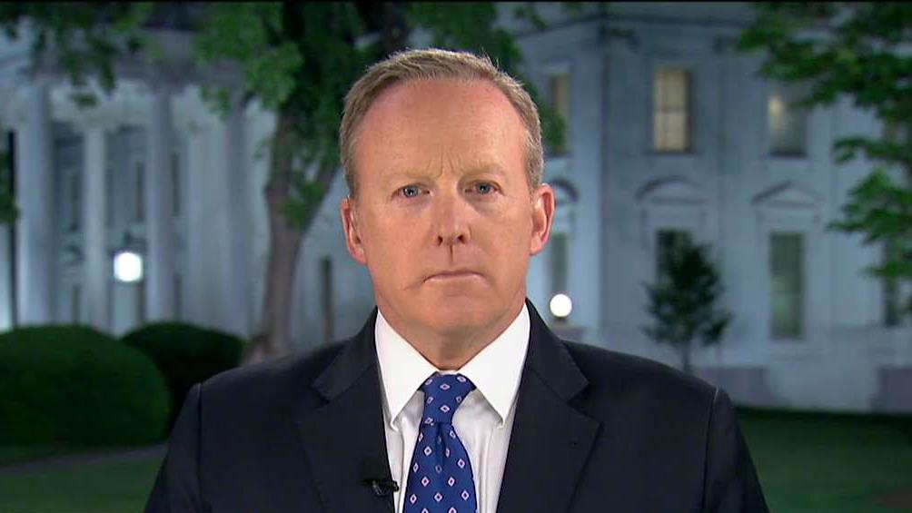 White House Press Secretary Sean Spicer on President Trump firing FBI Director James Comey.