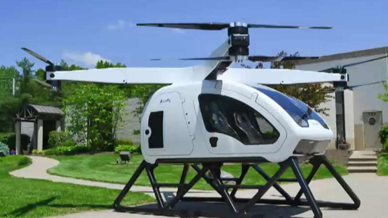 Workhorse CEO Steve Burns introduces the SureFly personal octocopter capable of carrying two passengers up to 70 miles.