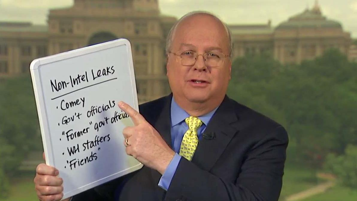Former Bush 43 Deputy Chief of Staff Karl Rove discusses who may be responsible for the White House leaks.