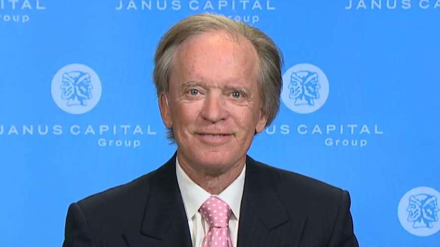 Legendary investor and Janus Capital Portfolio Manager Bill Gross discusses what is behind Wall Street's selloff and the GOP agenda is affected by the current turmoil in Washington D.C.
