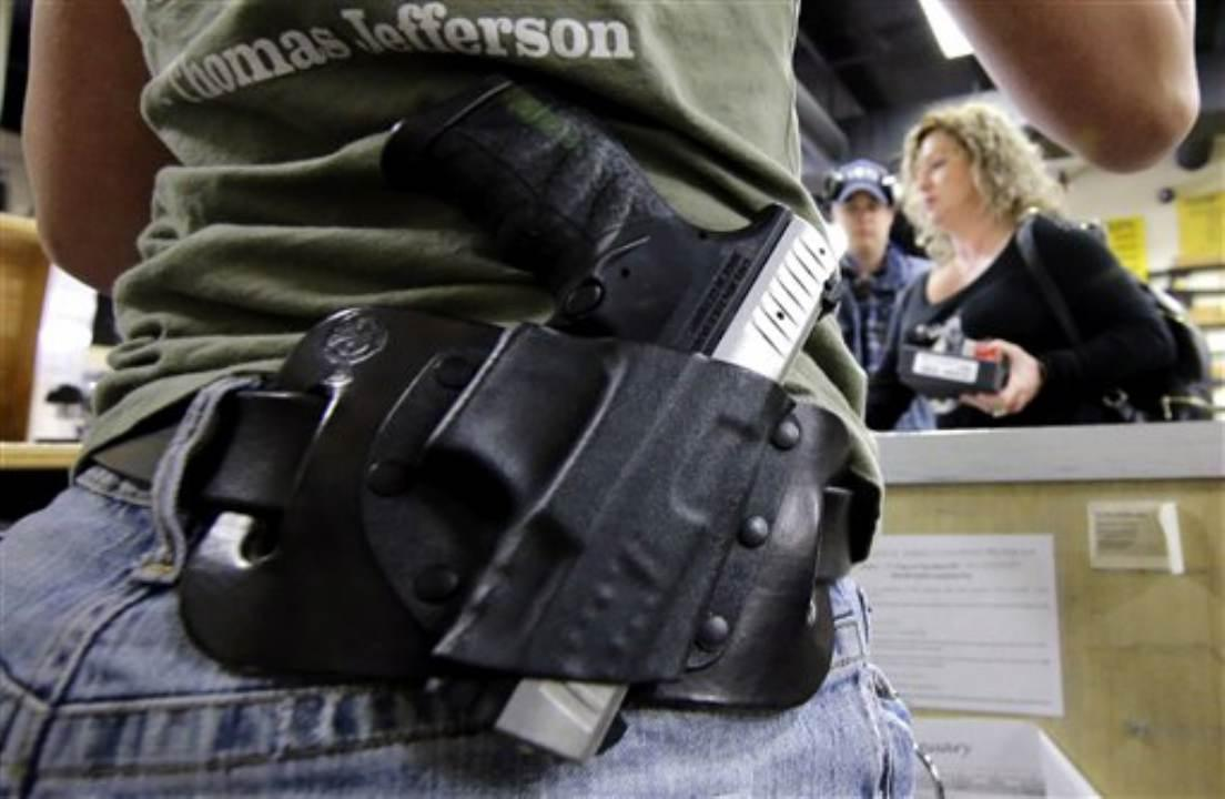 U.S. Concealed Carry Association President Tim Schmidt explains why there is a rise in concealed carry permits.