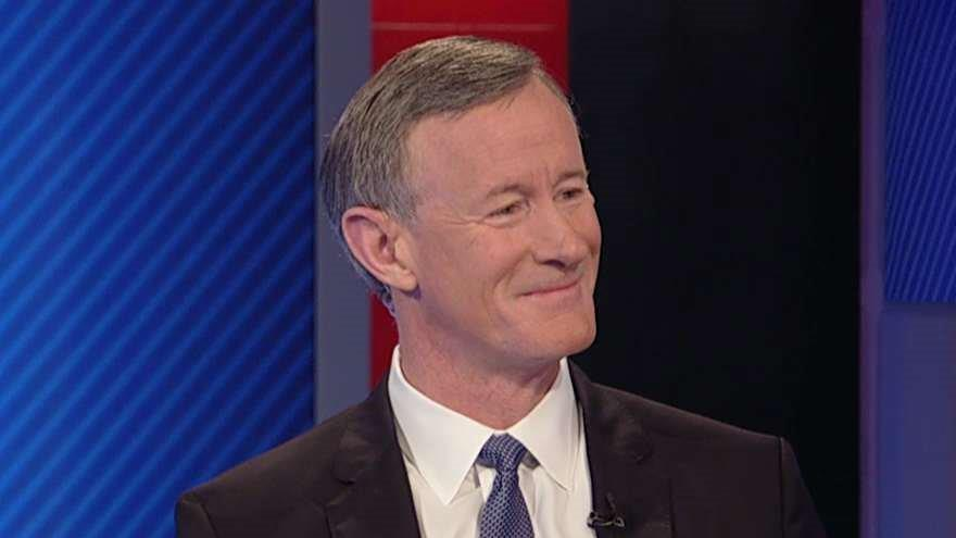 Ret. Admiral William McRaven on his new job as the chancellor of the University of Texas System, the war on terror and his new book.