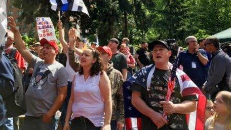 Chris Cox of Bikers for Trump on Portland protests.