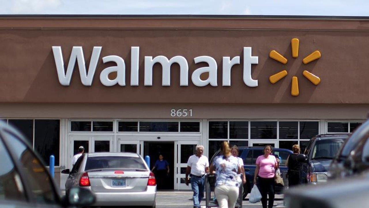 FBN's Tracee Carrasco on Walmart testing a new delivery system using employees at its stores.
