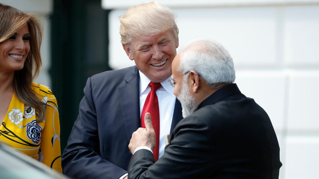 Tim Roemer, former U.S. ambassador to India, on whether President Trump will have a successful meeting with India's Prime Minister Narendra Modi.