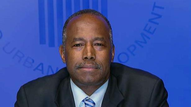 U.S. HUD Secretary Dr. Ben Carson on the department's budgetary cuts and how the GOP health care bill will affect Medicaid.
