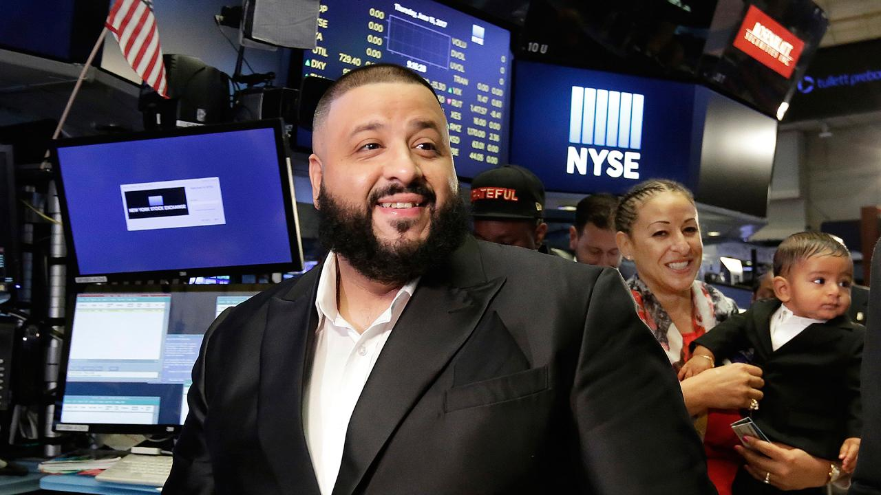 Music mogul DJ Khaled talks with FBN's Nicole Petallides at New York Stock Exchange about the keys to success and how having his son changed everything.