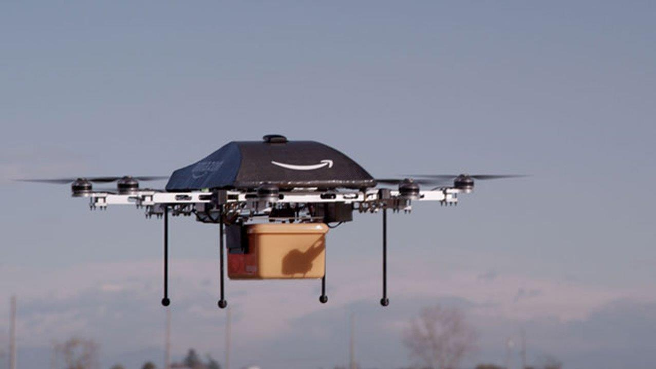 Mashable Technology Editor Pete Pachal on what Amazon's latest patent reveals about its plans for delivery drones and the future of Amazon CEO Jeff Bezos' empire.