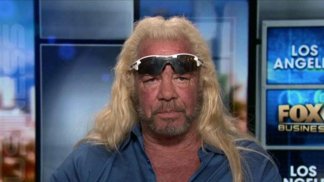 Bounty hunter Duane 'Dog' Chapman on the rise of smash and grab robberies in California.