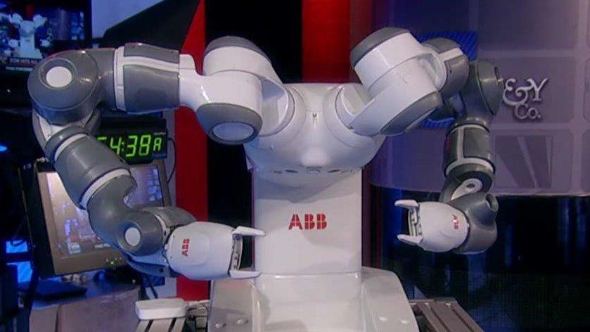 ROBO Global President William Studebaker on the worlds first robot that collaborates with humans.