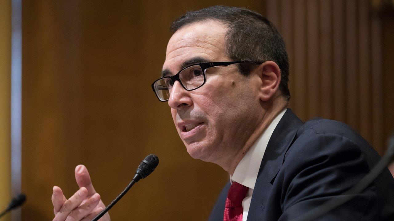 Treasury Secretary Steven Mnuchin on the debt ceiling and efforts to reform the U.S. tax code.