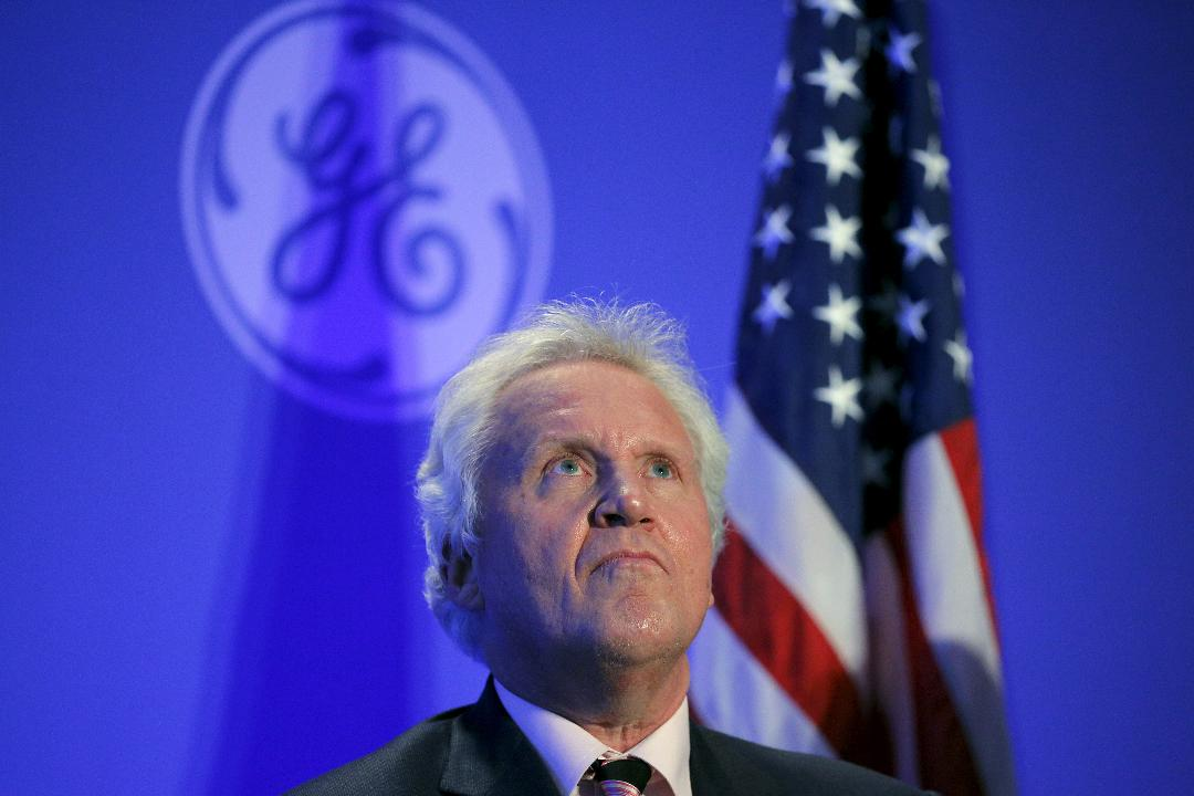 GE CEO Jeffrey Immelt is leaving the top post after 16 years and passing the reins to John Flannery