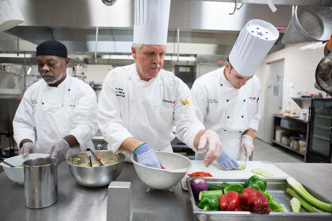 Aramark CEO Eric Foss is on a mission to overhaul Fortune 500 corporate cafeterias to make them healthier