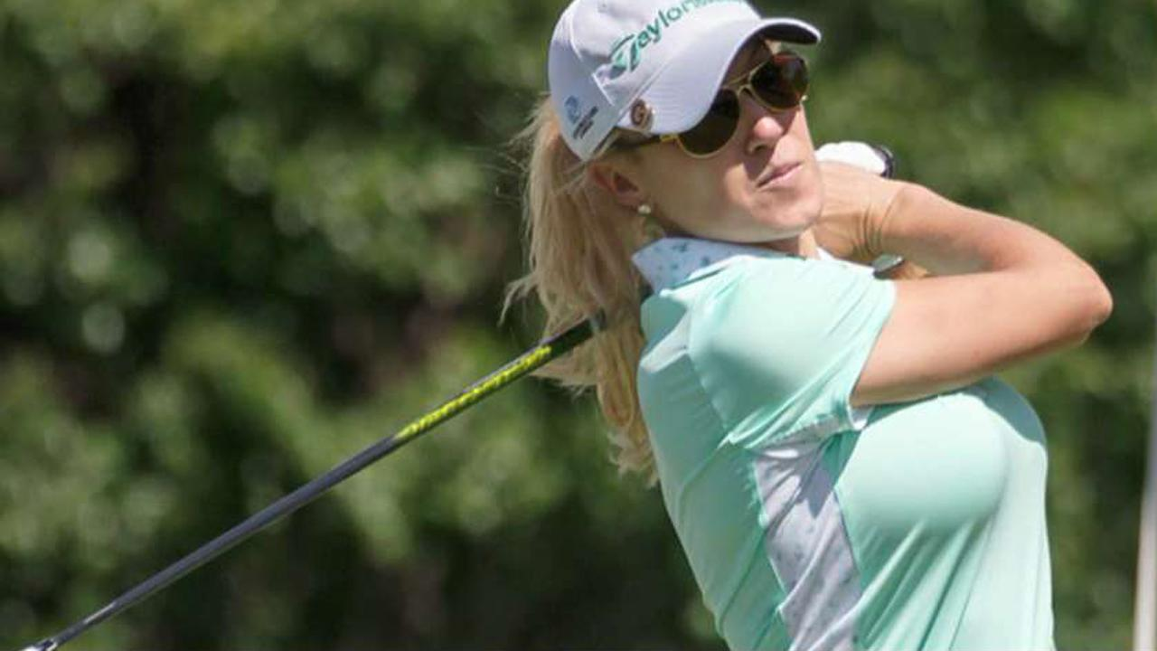 LPGA's Natalie Gulbis discusses her possible congressional campaign run.