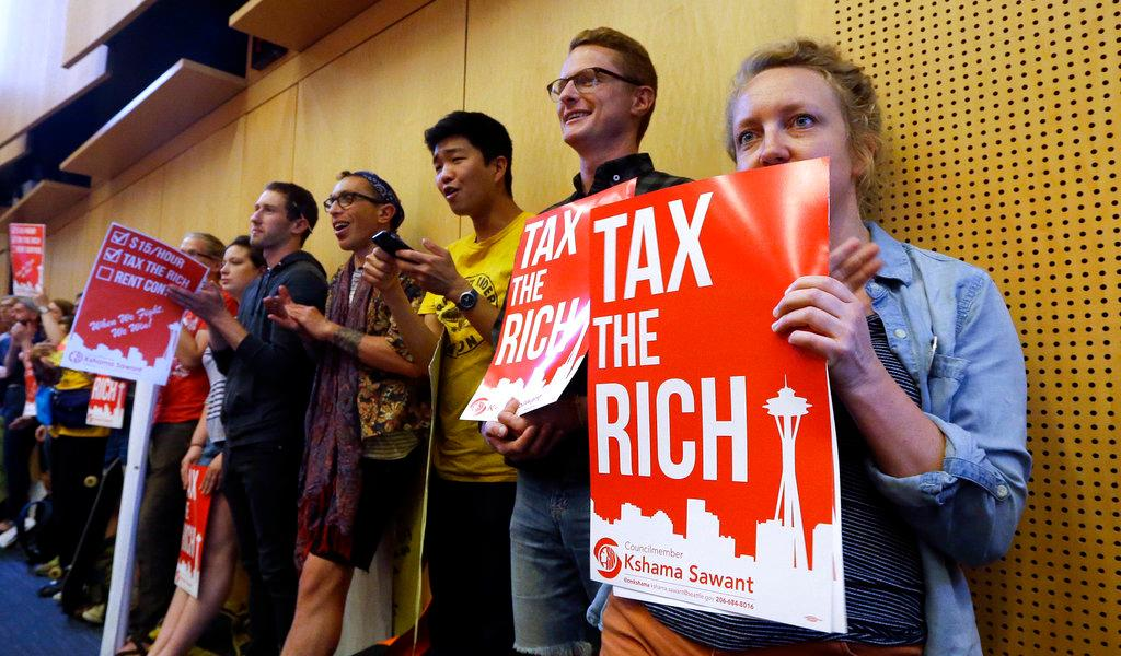 FBN's Stuart Varney sounds off on Seattle's income tax on the wealthy.