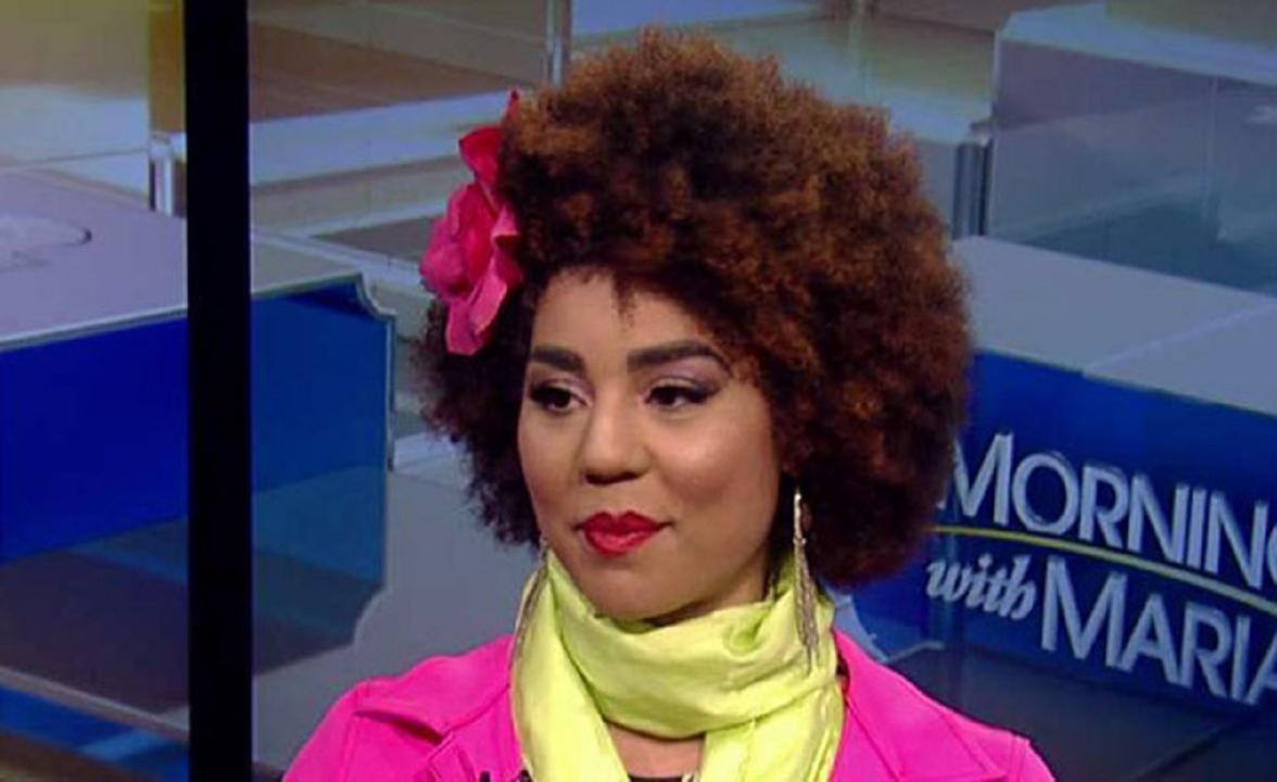 Singer, songwriter and Trump supporter Joy Villa behind her decision to wear a Trump-inspired dress during the 2017 Grammy Awards and her new song 'Make America Great Again.'