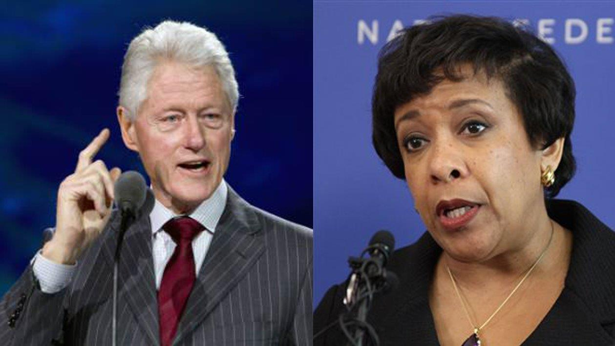 Judge Andrew Napolitano on former Attorney General Loretta Lynch using an email alias to write about the tarmac meeting with Bill Clinton.