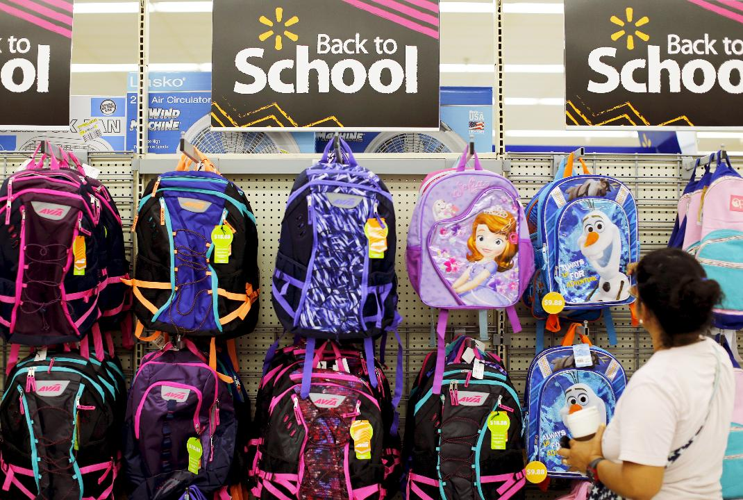 Teachers, parents and students are spending big bucks back-to-school shopping. Here's a breakdown