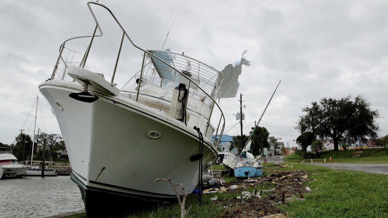 Port of Corpus Christi Deputy Port Director Sean Strawbridge on Hurricane Harvey's impact on efforts to get the port back up and running.