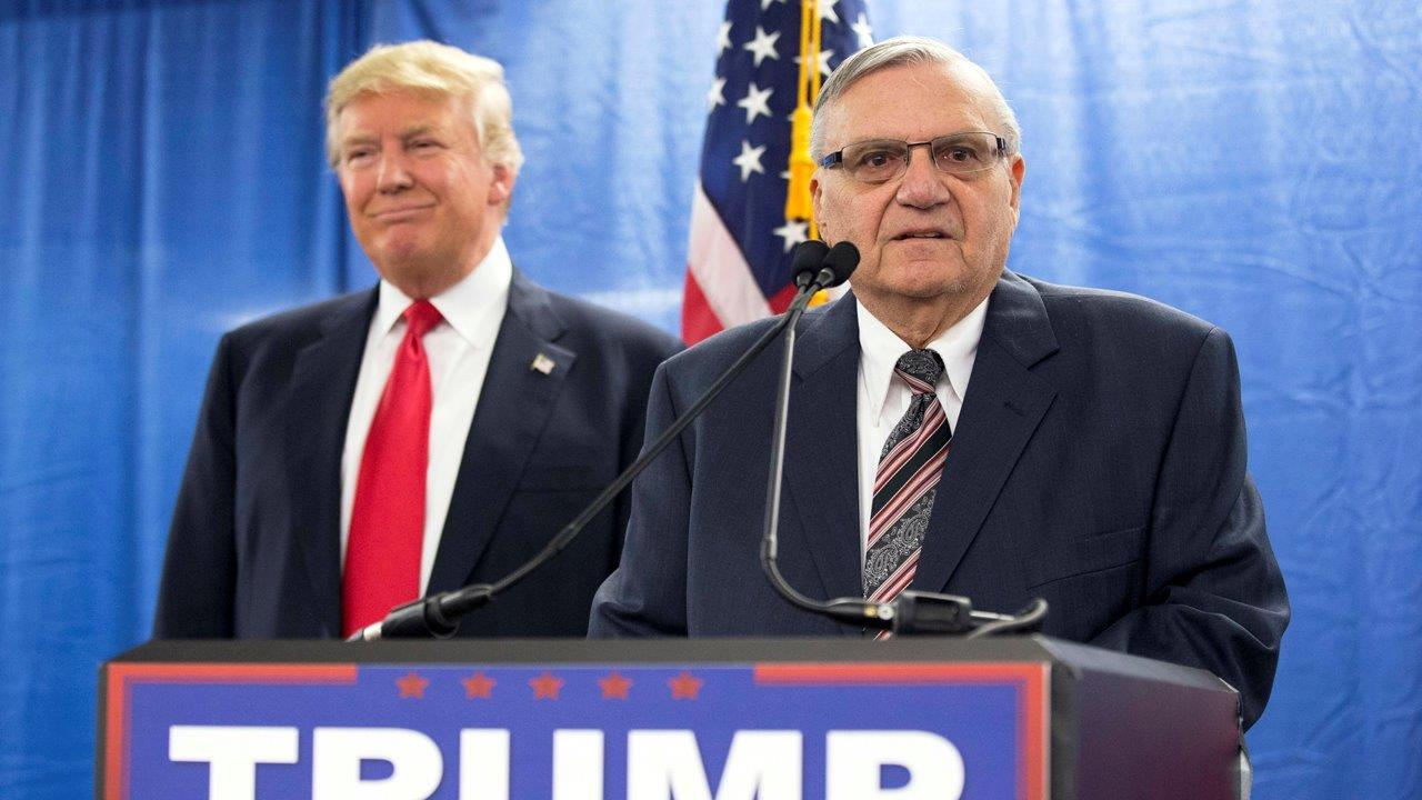 Former Maricopa County Sheriff Joe Arpaio on President Trump and his legal battle.