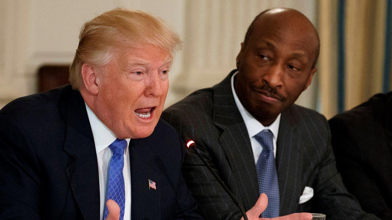 Judge Andrew Napolitano, Fox News senior judicial analyst, and FBN's Liz MacDonald on the fallout from CEOs such as Ken Frazier resigning from President Trump's American Manufacturing Council.