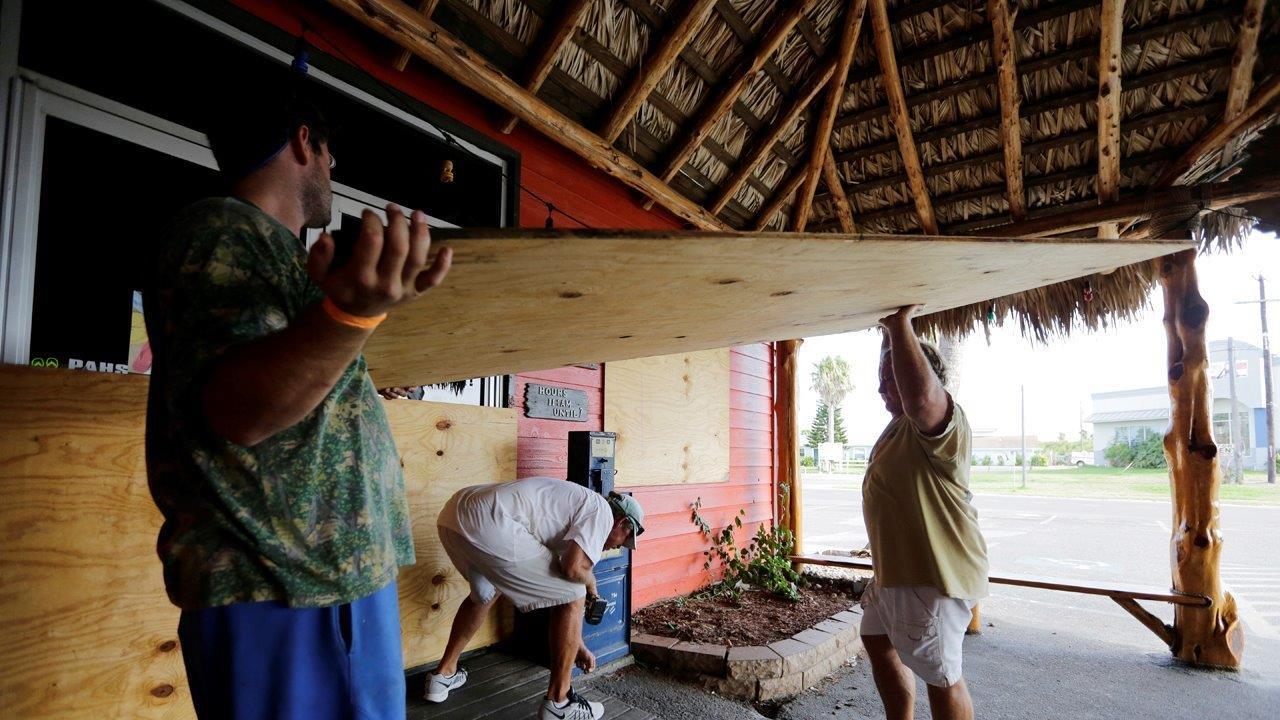 Fox News Meteorologist Janice Dean on Hurricane Harvey intensifying as it approaches the Texas coast.
