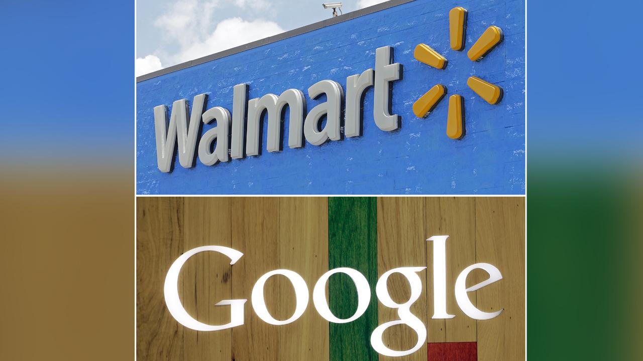Walmart, Google partner to compete with Amazon