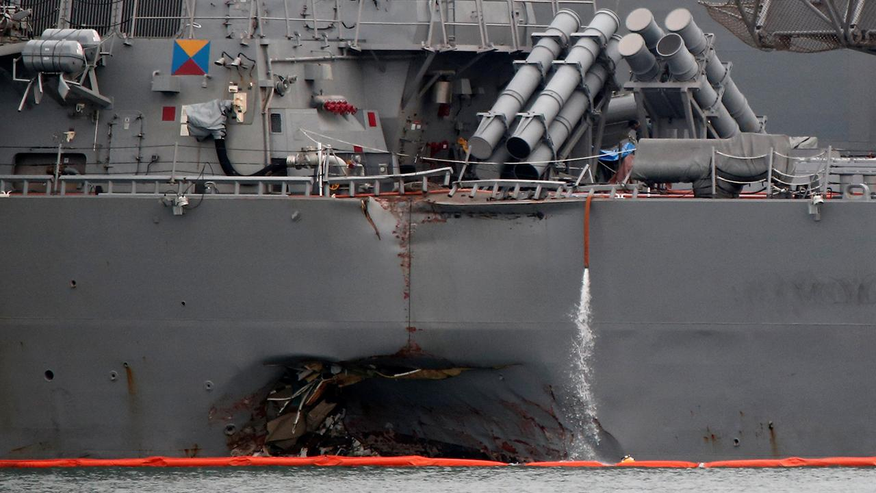 Former assistant Secretary of Defense Larry Korb discusses what may have caused the US Navy 7th Fleet crash