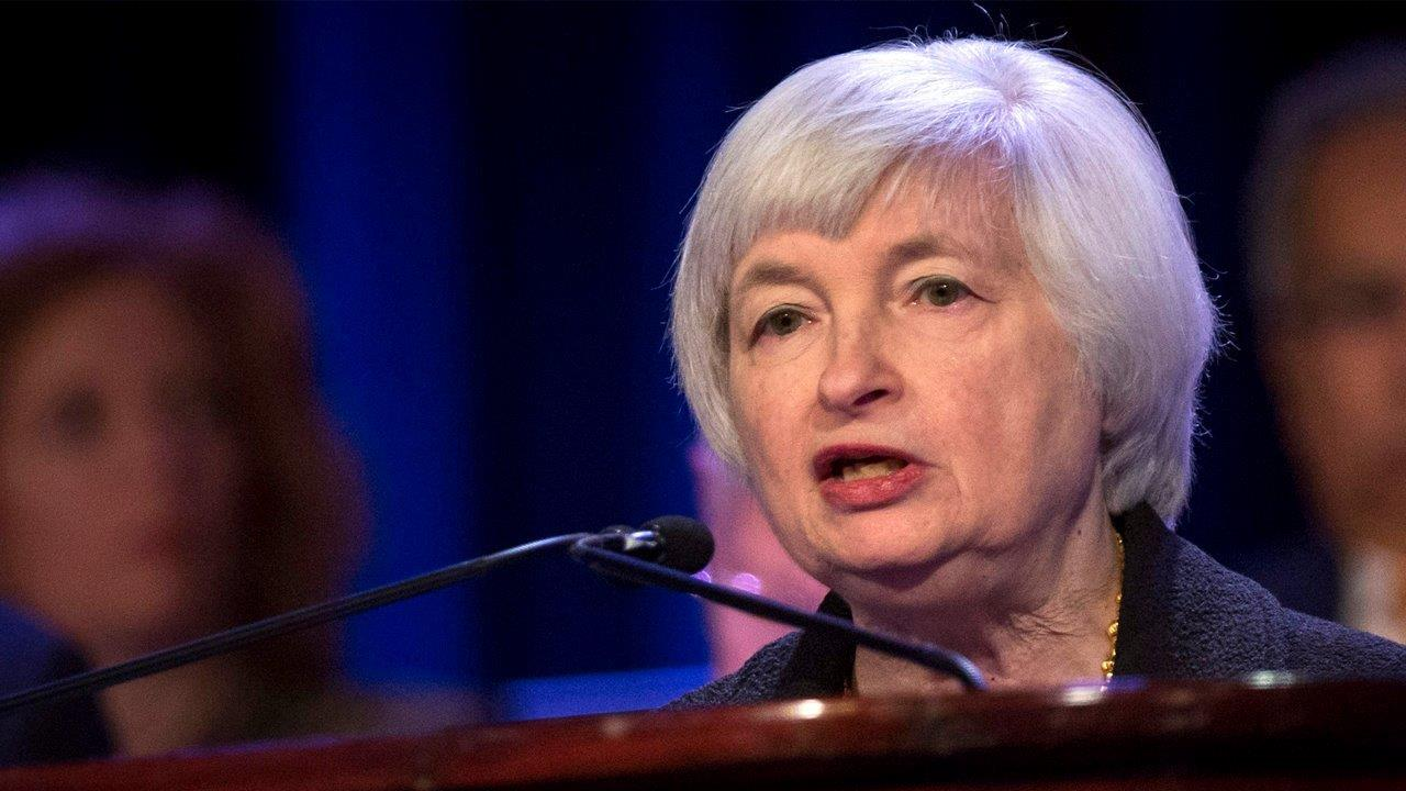 FBN's Adam Shapiro on the highlights from Federal Reserve Chair Janet Yellen's speech in Jackson Hole, Wyoming.