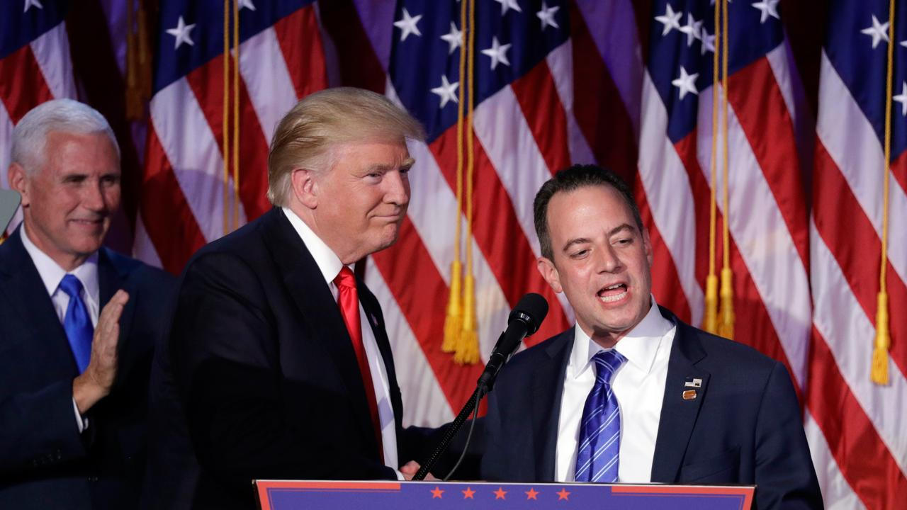 FBN's Charlie Gasparino on the next career move for former White House Chief of Staff Reince Priebus.