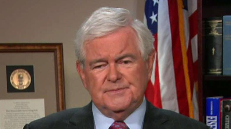 Fox News contributor Newt Gingrich on U.S. economic growth.