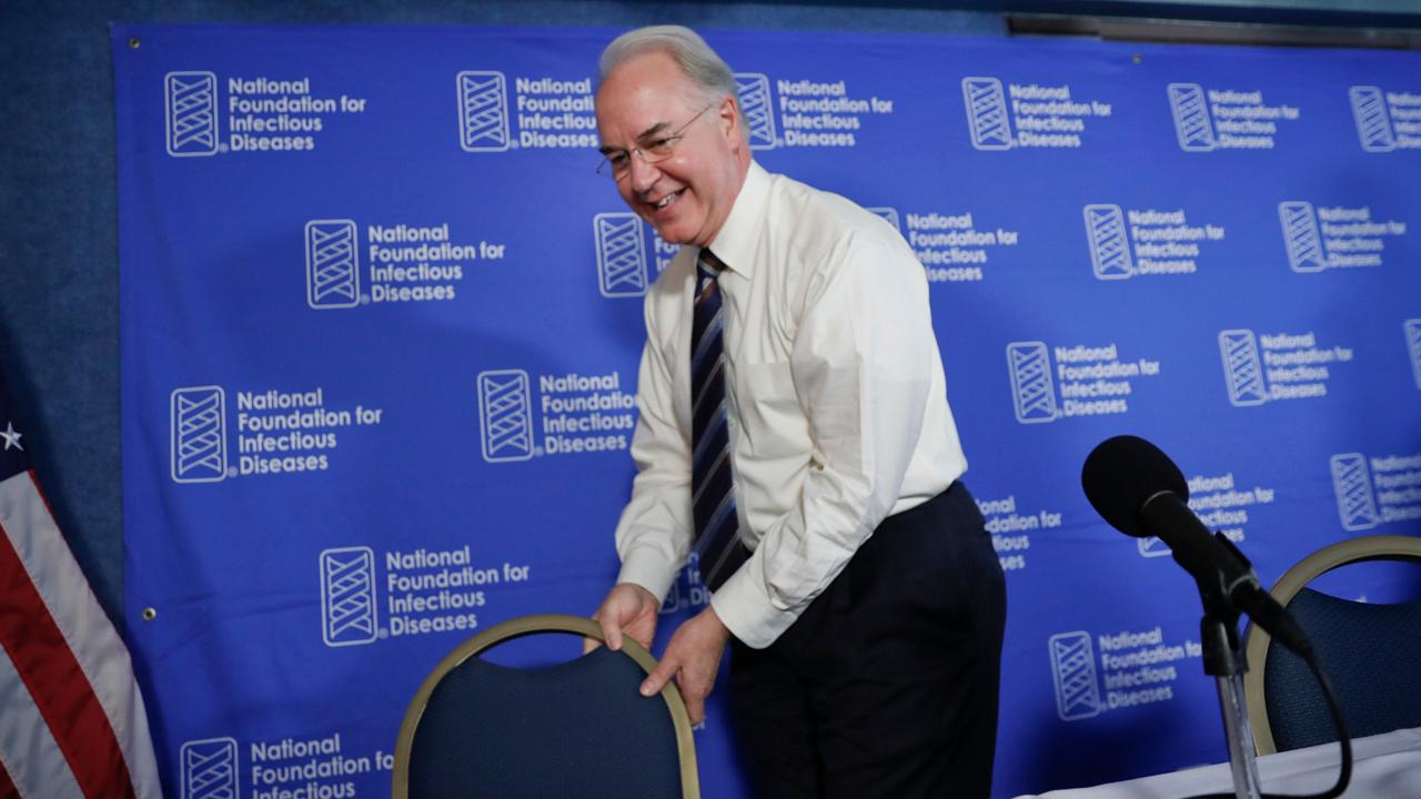 Former George W.  Bush senior advisor Karl Rove on HHS Secretary Tom Price resigning, and how the Obama administration's use of private jets compares to the Trump administration.