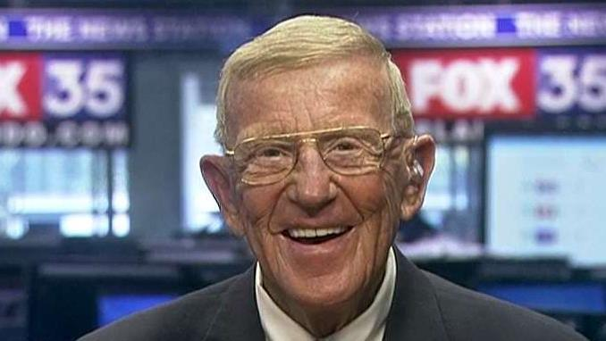 Former Notre Dame football coach Lou Holtz on the NCAA basketball scandal.