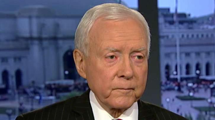 Senate Finance Committee Chairman Sen. Orrin Hatch,(R-Utah), on corporate tax reform.