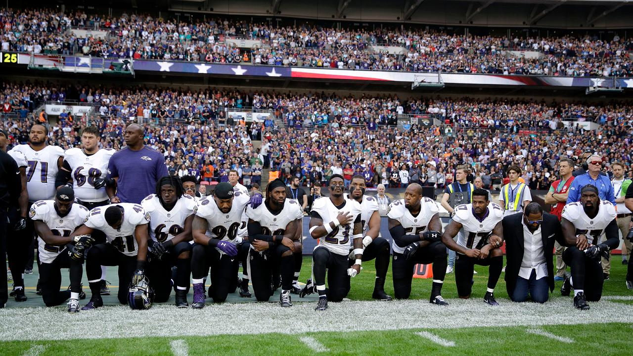 FBN's Stuart Varney weighs in on NFL anthem protests and President Trump's response.