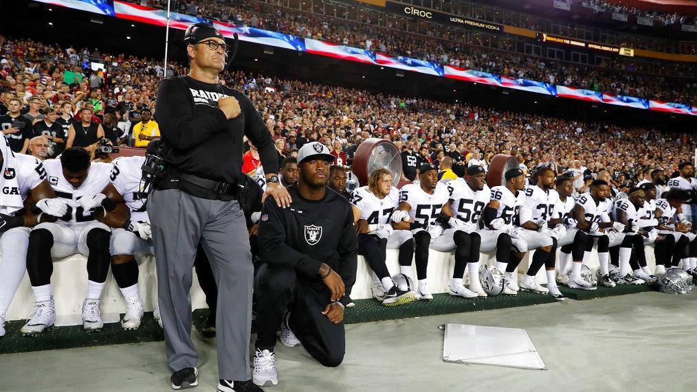 Former NFL star Jack Brewer on NFL anthem protests.