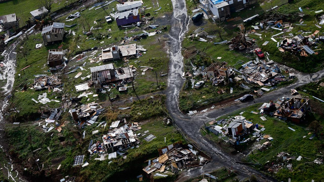 Puerto Rico Gov. Ricardo Rossello calls on the U.S. Congress to enact an aid bill that is consistent with the damage the island has suffered.