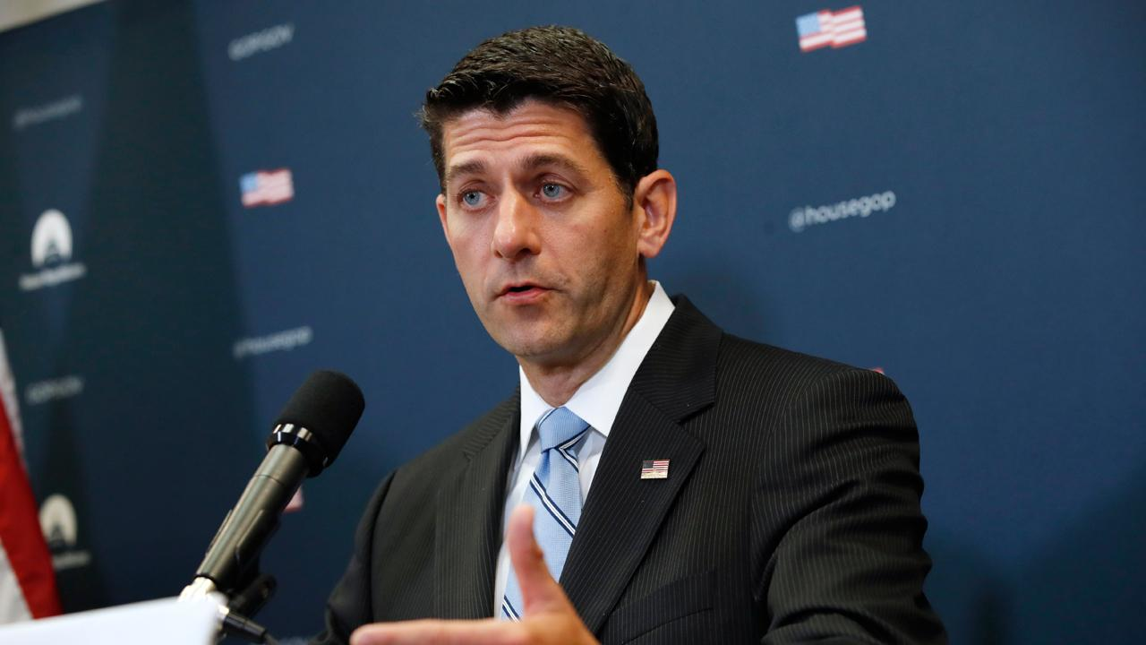 Speaker of the House Paul Ryan (R-Wisc.) says technology is allowing Hurricane relief fund cash claims to process at a faster rate than prior storms.